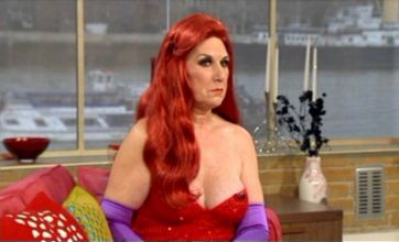 Granny has plastic surgery to make her look more like Jessica Rabbit