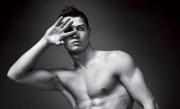 Cristiano Ronaldo bares all like David Beckham for new Armani advert