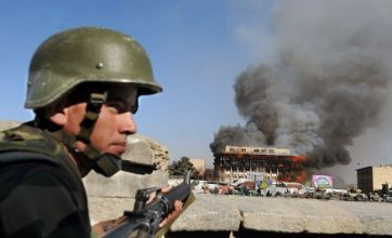 Taliban militants attack Afghan capital