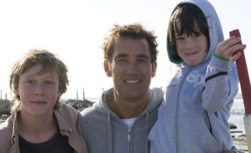 Clive Owen shows off parental charm in The Boys Are Back