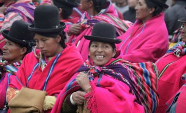 Bolivia's Morales vows to help poor in second term