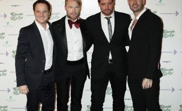 Boyzone: New video was 'draining'