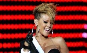 Rihanna dodges Chris Brown and bottles in nightclub brawl
