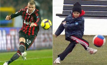 Romeo bends it like Beckham