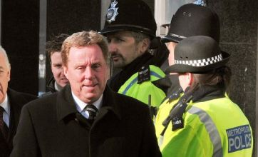 Harry Redknapp in court on tax charges