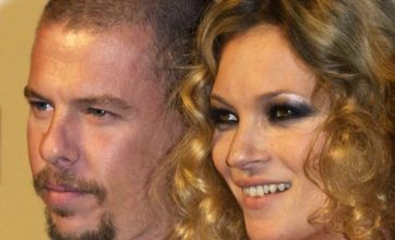 Alexander McQueen death leaves Kate Moss 'devastated'