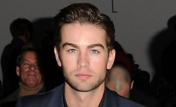 Chace Crawford turns up the heat with friends at Calvin Klein fashion show