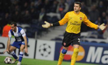 Cesc Fabregas backs Fabianski after Porto nightmare