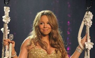 Mariah Carey shows off her curves on Angels Advocate tour