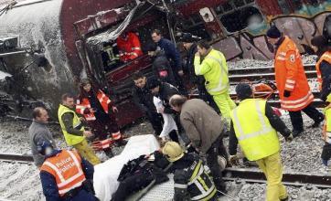Eurostar services axed after crash