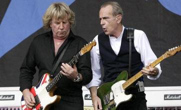 Status Quo rocking all over palace