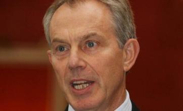 Campbell cracks while backing Blair