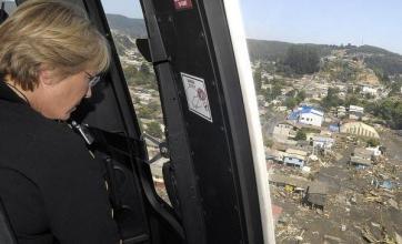 'Hundreds killed' in Chile quake