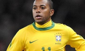 Robinho hopes to stay at Santos