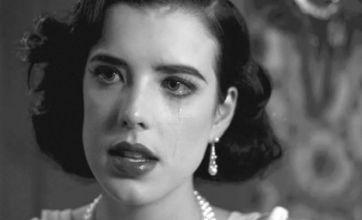 Tearful Agyness Deyn transformed into Audrey Hepburn in film debut