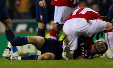 Owen Coyle: No agenda to target Arsenal after Aaron Ramsey leg-break