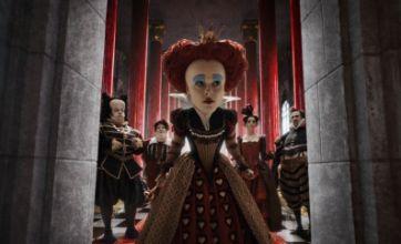 Alice in Wonderland: Red Queen saves head of Burton