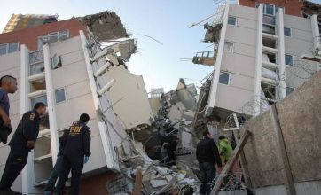 Fleeing Haiti family hit by Chile earthquake