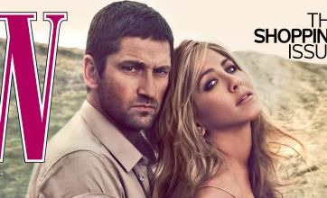 Jennifer Aniston and Gerard Butler look sizzling hot in sexy photo shoot
