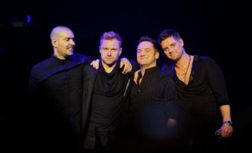 Boyzone 'pull it together' for Stephen Gately
