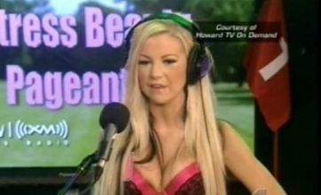 Tiger Woods mistress wins Howard Stern beauty contest