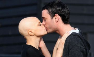 Jack Tweed makes Mother's Day visit to grave of Jade Goody