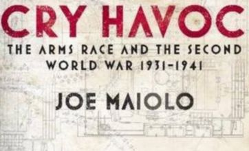 Cry Havoc shows how an arms race led to World War II