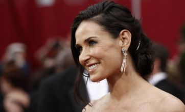 Demi Moore in Twitter suicide drama, again