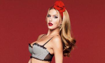Bar Refaeli strips off for steamy Passionata lingerie shoot