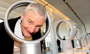James Dyson invents new blades-free fan Air Multiplier ready for summer