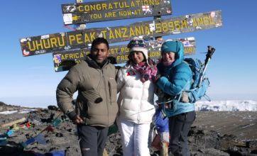 Cheryl Cole's mountain-climbing doctor launches Everest bid