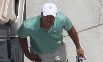 Tiger Woods papped after Nike ad shoot in Orlando