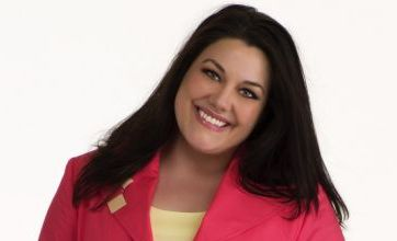 Brooke Elliott: People want to see a normal-sized person being represented on TV
