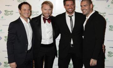 Boyzone toast Stephen's memory
