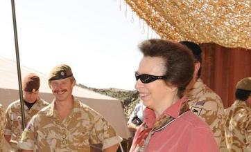 Princess Royal in Afghan visit