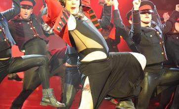 Cheryl Cole spoof bags dance title