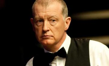 Wow – snooker champ Steve Davis is playing a set at Glastonbury
