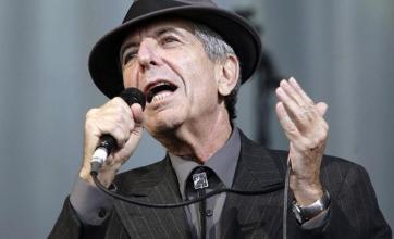 Leonard Cohen concert confirmed