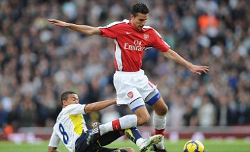 Robin van Persie 'will play for Arsenal v Spurs' but Aaron Lennon misses out