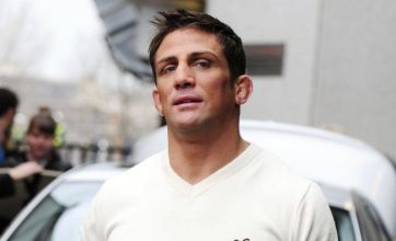 Alex Reid pulls out of 'Kong' fight after TV show injury and branded 'a joke'