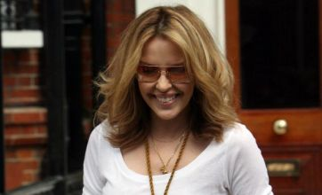 Kylie Minogue snapped in sunny get-up amid Twitter comeback chat