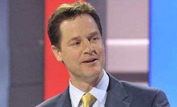 Nick Clegg surges with women in election poll