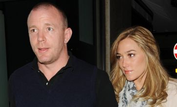 Guy Richie pictured with Madonna lookalike