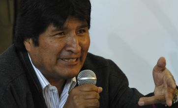 Bolivian president blames sex problems on chickens