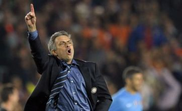 Jose Mourinho was 'screaming' after Inter Milan's victory over Barcelona