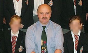 Teacher Peter Harvey cleared of attempting to murder schoolboy with dumbbell
