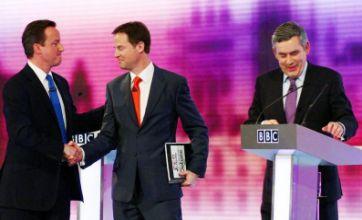 BBC leaders' TV debate: Cameron on top in viewers' vote