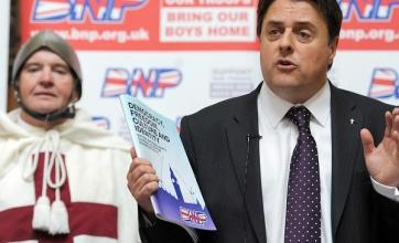 Protest as BNP launches manifesto