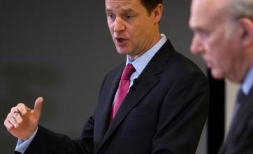 Clegg plays down talk of Cable rift