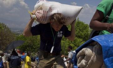 Sean Penn's A-list friends in Haiti